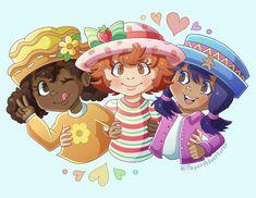 Strawberry Shortcake Characters, Sketch Poses, Childhood Tv Shows, Cartoon Tv Shows, Clown Makeup, Kid Character, Kawaii Art, Art Tutorials, Pens