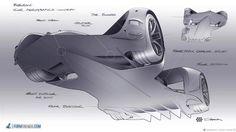 Robocar sketch by Daniel Simon