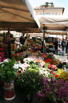 Campo di Fiori, Rome---currently desperately wishing I was here right now