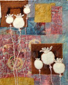 Poppy heads by textiletraveler