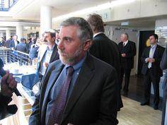 Wirtschaftsnobelpreisträger Paul Krugman - Weltwirtschaftlicher Preis 2010
