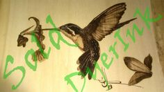 """This is """"Ma's Hummer"""" - it is not for sale. woodburned o basswood."""