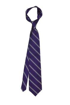 Bar stripe silk tie - Purple - Knottery NY