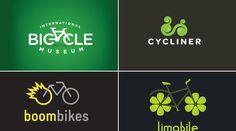 40 incríveis e criativos logotipos de marcas de bicicleta