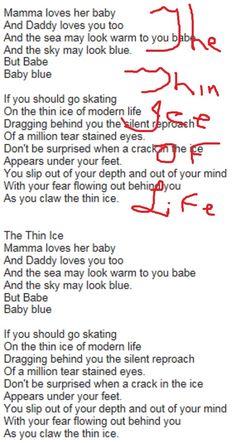 Rock Quotes, Love Her, Singing, Daddy, Lyrics, Life, Song Lyrics, Fathers, Music Lyrics