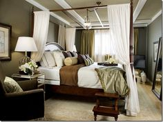 Everything but the canopy bed
