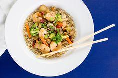 Quick Shrimp and Vegetable Stir Fry