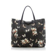 Rental Givenchy Magnolia Antigona Large Shopper Tote ($150) ❤ liked on Polyvore