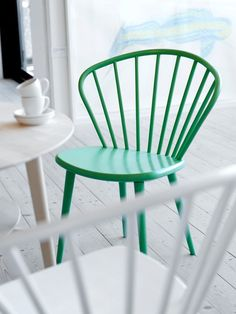 Miss Holly by Jonas Lindvall for Stolab. Beautiful colour, lovely contrast to the light floors and walls.