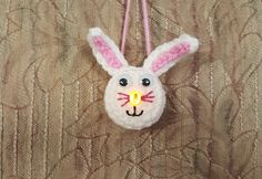 Lighted Bunny Ornament - Free Pattern