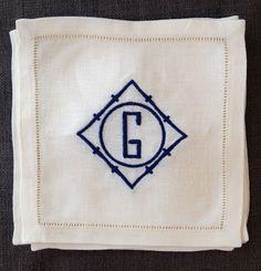 poppy monogram  No. Four Eleven