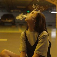 """""""Yoonae I love you and all. but you should stop smoking."""" """"I'll stop smoking when I'll stop feeling like shit. Smoke Photography, Girl Photography, Women Smoking, Girl Smoking, People Smoking, Korean Girl, Asian Girl, Foto Mirror, Rauch Fotografie"""