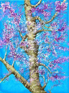 Blossom - mixed media