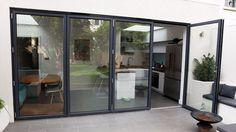Aluminium Bi Folding Sliding Patio Doors | eBay