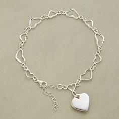 String O' Hearts Bracelet in Winter 2013 from Sundance on shop.CatalogSpree.com, my personal digital mall.