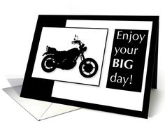 Brother, Motorcycle Birthday card (669653)