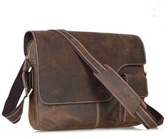 bbf7ff662e See more. Men s Crazy Horse Leather Satchel Cowhide Bag by guatiantian