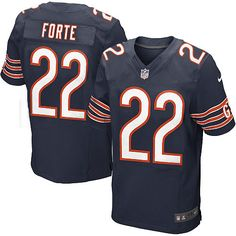 NFL Men s Elite Nike NFL Chicago Bears  22 Matt Forte Color Jersey 129.99 4eca01d81