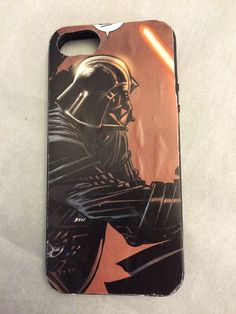 Darth Vader iPhone 5 case  by TheGeekForge on Etsy