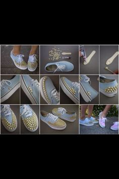 How To Decorate Your Shoes swagalishishly