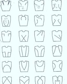 Sewing 101 Dart and seam placement. … - Dart and seam placement. … Dart and seam placement. Sewing Hacks, Sewing Tutorials, Sewing Projects, Techniques Couture, Sewing Techniques, Pattern Cutting, Pattern Making, Sewing Stitches, Sewing Patterns