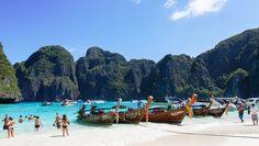 Phi Phi - Honeymoon To Remember Thailand Beach, Thailand Honeymoon, Thailand Travel, Phuket, Bangkok, Top Honeymoon Destinations, Beaches In The World, Paradise Island, Nice View
