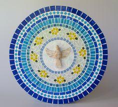 Mandala Divino Espírito Santo Azul