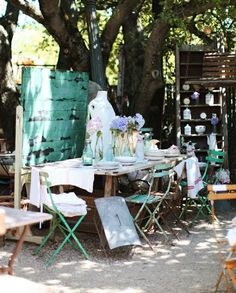 The Dove Cote Brocante: Store Displays & Flea Market Booths