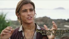 """Fluch der Karibik 5"": Brenton Thwaites spielt Henry Turner"