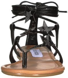 Steve Madden Women's Jupiter Flat Sandal ** Want additional info? Click on the image. (This is an affiliate link) #shoeslover