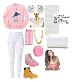 """""""I know when that hotline bling"""" by brooke200 ❤ liked on Polyvore featuring Casetify, Bulgari, CC SKYE, Timberland, Eos and GUESS"""