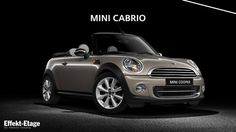 MINI trusted the 3D specialists of Berlin's Effekt-Etage to visualize the automobliles MINI, MINI Convertible, MINI, MINI Clubman and MINI Countryman for its site relaunch.    Client: BMW AG  Task: 3D production