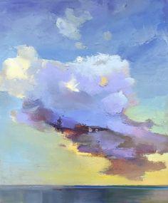"""Cloud"" by Holly Ready. Oil on Canvas. 24"" X 20"".  *SOLD*  www.maine-art.com. #HollyReady #maineart #art"