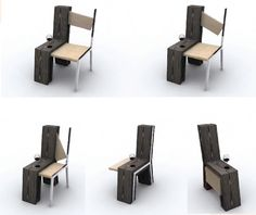 Chair Inside A Chair by Flavio Scalzo | http://www.designrulz.com/product-design/chair-product-design/2011/12/chair-inside-a-chair-by-flavio-scalzo/