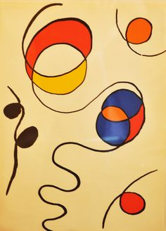 Alexander Calder Lithograph   This authentic beautiful print from iconic artist Alexander Calder available now at Worrell Smith Gallery in Westport, CT and also in our online shop via this link.