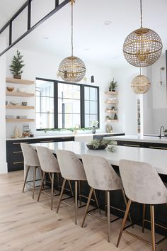 The House of Silver Lining: The Forest Modern Christmas Home Tour: The Kitchen