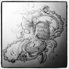 pocket watch drawing tattoo - Google zoeken