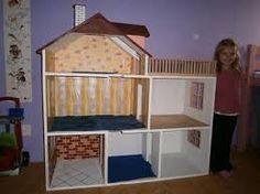 Výsledek obrázku pro jak vyrobit domeček pro panenky