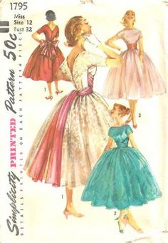 vintage sewing patterns - Sweetpacks Yahoo Image Search results