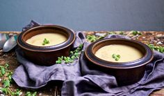 Kartoffel-Apfel-Suppe mit Räucheraal / http://piasdeli.de/Rezept/kartoffel-apfel-suppe-mit-raeucheraal/