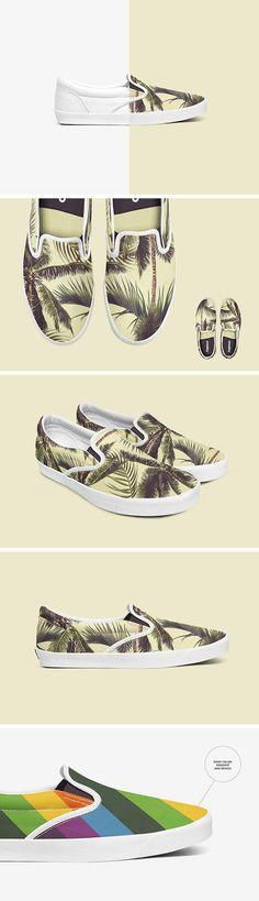 Slip-on Shoes Mockup Set - download freebie by PixelBuddha