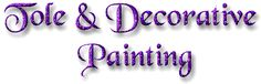 Link to 42 different Tole Painting Sites