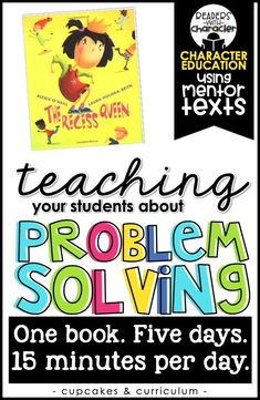 Problem Solving Character Education Social Emotional Learning SEL is part of Social emotional learning - Emoti Character Education Lessons, Social Skills Lessons, Teaching Social Skills, Social Emotional Learning, Student Teaching, Life Skills, Teaching Character, Coping Skills, Psychology Graduate Programs
