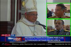 El Incómodo Momento Cuando El Arzobispo Francisco Ozoria Le Manda Fuetazos A Las Autoridades Frente A Varios Altos Jefes De La Institución