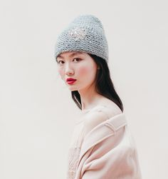 Beanies with bling. I love this,obviously. Jennifer Behr's hand knit wool beanies are adorned with jeweled embellishments, decorated with sequined and embroidered motifs and wrapped with delicate veiling. Just beautiful and perfect for adding that extra touch of luxe this holiday season.