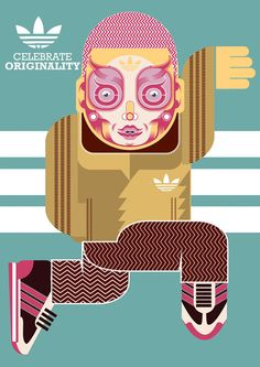 Adidas Illustration