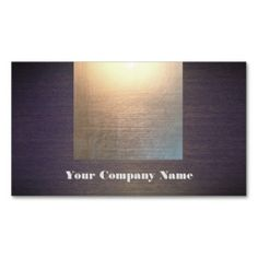 Modern Gold Glow and Wood Look Business Card. This is a fully customizable business card and available on several paper types for your needs. You can upload your own image or use the image as is. Just click this template to get started!
