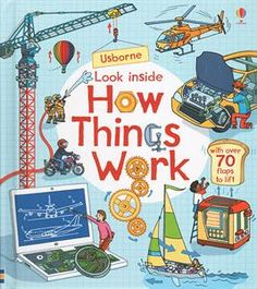 Look Inside How Things Work ~ Board book ~ Rob Lloyd Jones Monster H, Lloyd Jones, Build Your Own Boat, Little Red Hen, Mint, Great Hobbies, Interesting Information, Family Game Night, Boat Plans