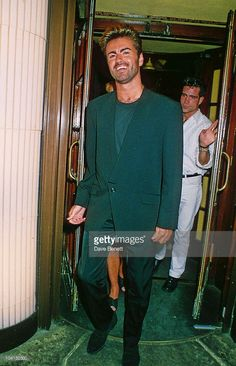 George Michael, Langan's Restaurant In London