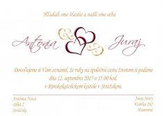 Svadobné oznámenie - SO135